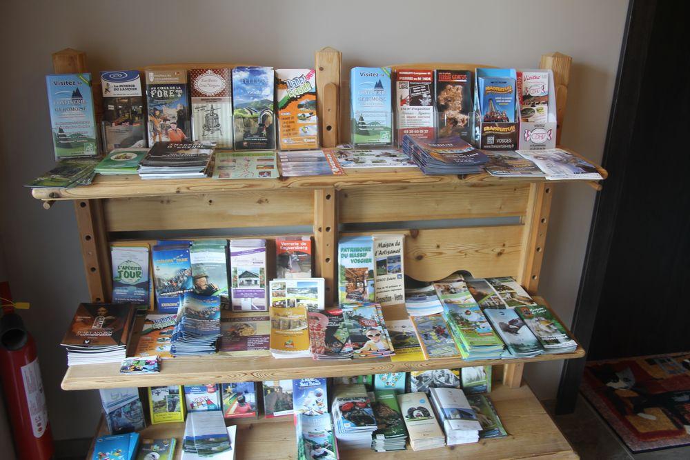 brochures touristiques de Gérardmer