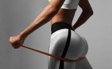 des belles fesses en faisant du fitness